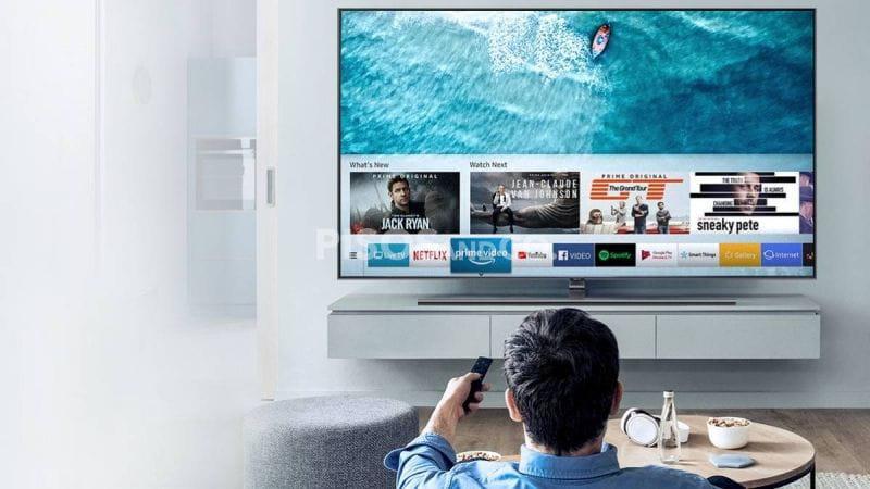 ¿Que pulgadas debe tener el televisor según la distancia al sofá?