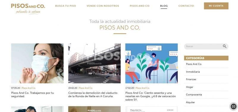 Blog Pisos And Co. El mejor blog inmobiliario de Coruña.