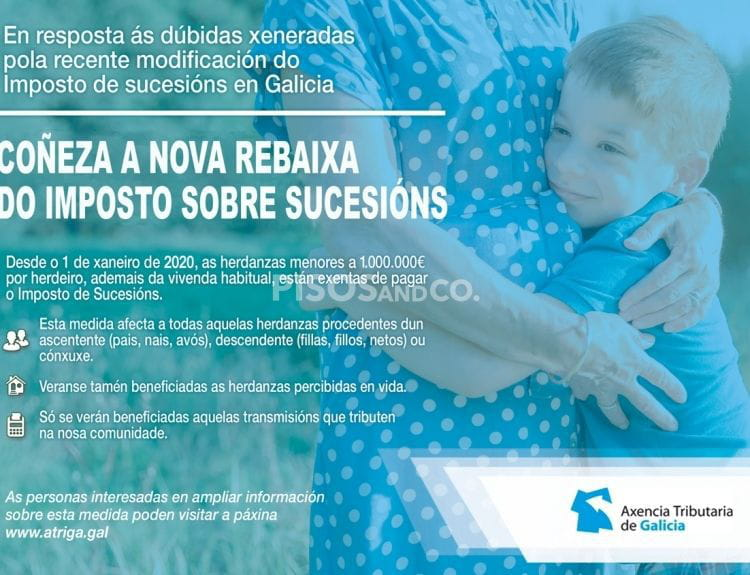Impuesto de sucesiones en Galicia