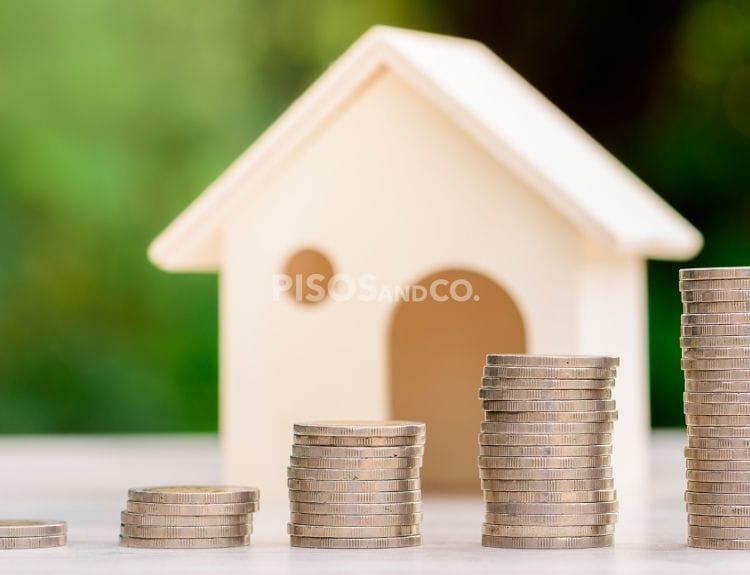 Subida del 16,7% en la compraventa de viviendas.