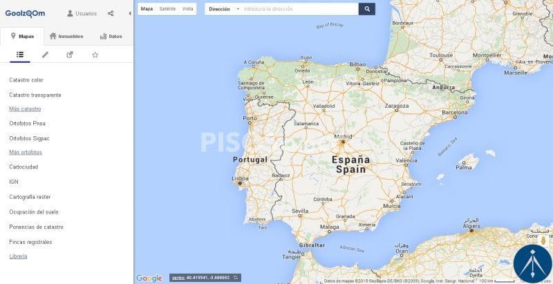 Goolzoom, una herramienta geográfica que nos aporta datos catastrales de forma muy intuitiva.