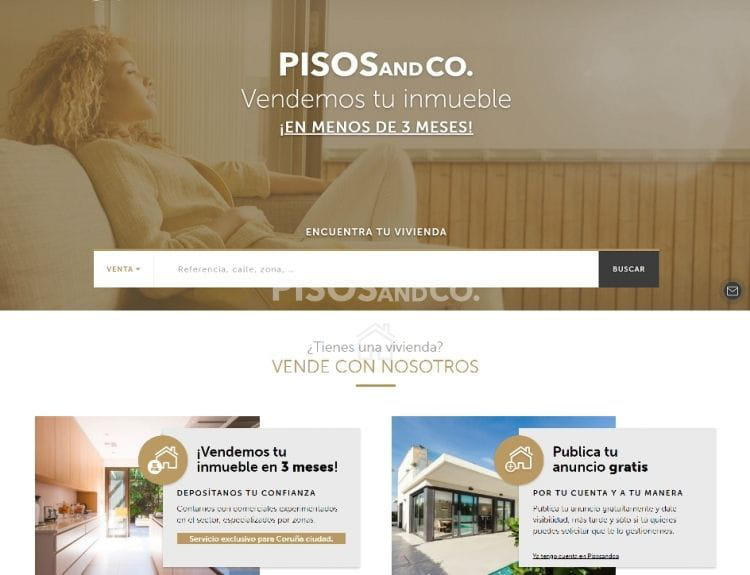 Pisos And Co, estrenamos restyling en nuestra página web.