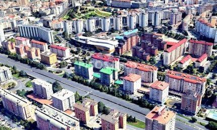 Calle Rafael Alberti - Elviña - Barrio de las Flores, A Coruña