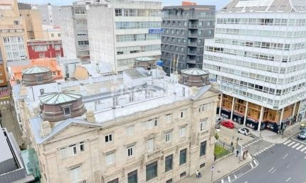 Calle Juana de Vega - Plaza de Pontevedra - Cantones, A Coruña
