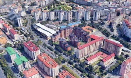 Avenida Salvador de Madariaga - Elviña - Barrio de las Flores, A Coruña